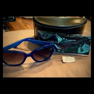 Blue Marc Jacobs cat eye Sunglasses